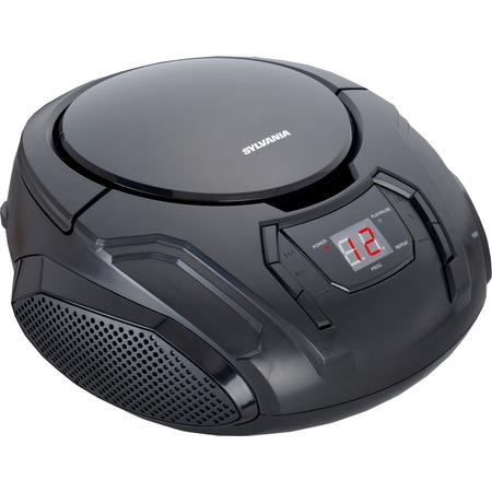 SYLVANIA SRCD261 Portable CD Player with AM/FM Radio