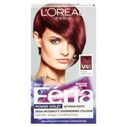 L'Oreal Paris Feria V48 Intense Medium Violet One Application Permanent Haircolour Gel