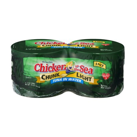 Fresh Tuna - (8 Cans) Chicken of the Sea® Chunk Light Tuna in Water, 5 oz