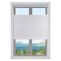 "Arlo Blinds White Top-down/ Bottom-up 3/8"" Single Cordless Cellular Light Filtering Shade,27.5""Wx60""H"