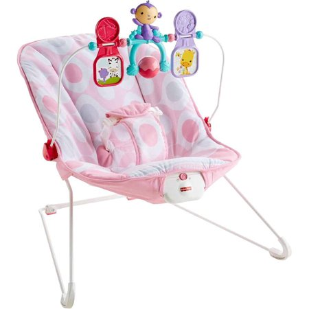 Fisher-Price Baby's Bouncer, Pink -