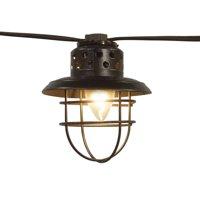 Better Homes & Gardens Outdoor Vintage Cage Lantern String Lights