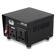 Pyle Pvtc120u Step Up And Down Voltage Converter Transformer With Usb Charging Port