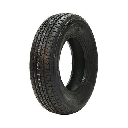 Trailer King ST Radial II ST205/75R15 8 Ply Tire LRD (2 Ply Rib Tire)