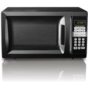 Hamilton Beach 0.7 cu ft Microwave Oven, Black