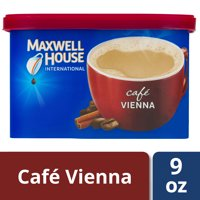 Maxwell House International Vienna Cafe-Style Beverage Mix, 9 oz Canister