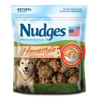 Nudges Homestyle Chicken Pot Pie Dog Treats, 16 oz.