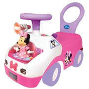 Kiddieland Minnie Mouse Dancing Activity Interactive Ride On Car with Sounds