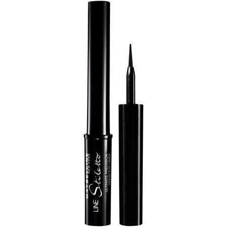 Maybelline New York Line Stiletto Ultimate Precision Liquid Eyeliner, Blackest Black, 0.05 Fl Oz
