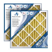 10x10x1 Pleated Air Filter MERV 11 - Highest Quality - 6 Pack - (Actual Size: 9.5 X 9.5 X .75)