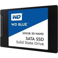 """WD BLUE 3D 500GB NAND SATA 2.5"""" 7mm SSD - WDS500G2B0A"""