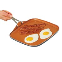 As Seen on TV Gotham Steel Non-stick Square Griddle Pan, 10.5 in