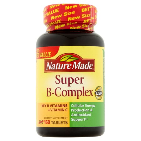 - Nature Made Super B-Complex Tablets, 160 count