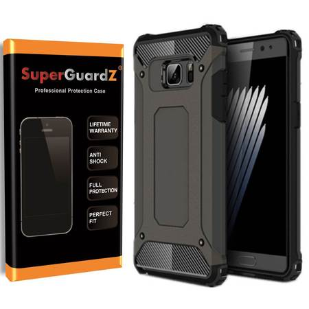 For Samsung Galaxy S5 Case, SuperGuardZ Slim Heavy-Duty Shockproof Protection Cover Armor [Black] + LED Stylus Pen ()