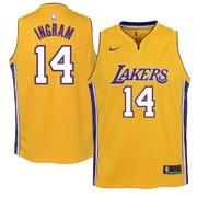 5d38d87bda3 Brandon Ingram Los Angeles Lakers Nike Youth Swingman Jersey Yellow - Icon  Edition