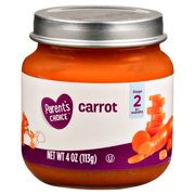 Parent's Choice Baby Food, Carrots, Stage 2, 4 oz