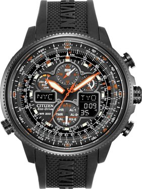 a0ceeee14ea5 Product Image Citizen Men s Eco-Drive Navihawk Atomic Alarm Chronograph  Watch