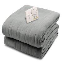 Biddeford Comfort Knit Fleece Heated Electric Blanket