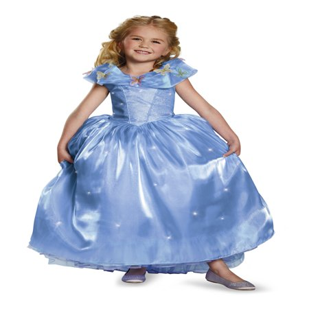 Cinderella Ultra Prestige Girls Child Halloween Costume - Cinderella Costumes For Women