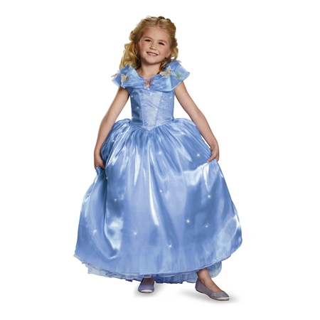 Cinderella Ultra Prestige Girls Child Halloween Costume](Cinderella Zombie Costume)