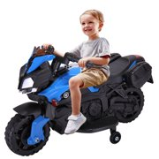 6V Kids Ride On Motorcycle Car Battery Powered 4 Wheel Bicycle Electric Toy