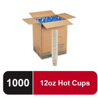 Deals on Dixie PerfecTouch 12 oz. Insulated Paper Hot Coffee Cup 1000 Ct
