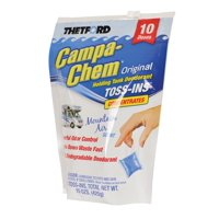 Thetford Campa Chem 10-Pack Toss-Ins, 1.5 oz Packets
