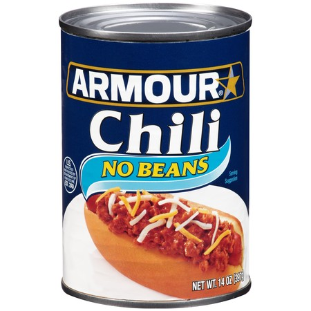(6 Pack) Armour No Beans Chili, 14 Oz