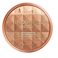 (2 Pack) Rimmel Radiance Brick Bronzer, Medium 002, .49 oz
