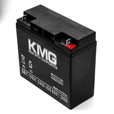 KMG 12V 18Ah Replacement Battery for Alpha UPS1000 UPS1500 UPS2000 UPS2200 UPS600 - image 2 of 3