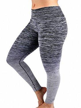 aea41b4fc2c36 Product Image Sassy Apparel Women's Full Length High Waist Yoga Gym Active  Leggings Pants (BK/GY