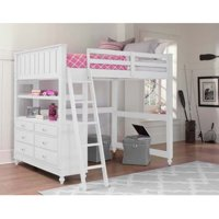 NE Kids Lake House Full Loft Bed