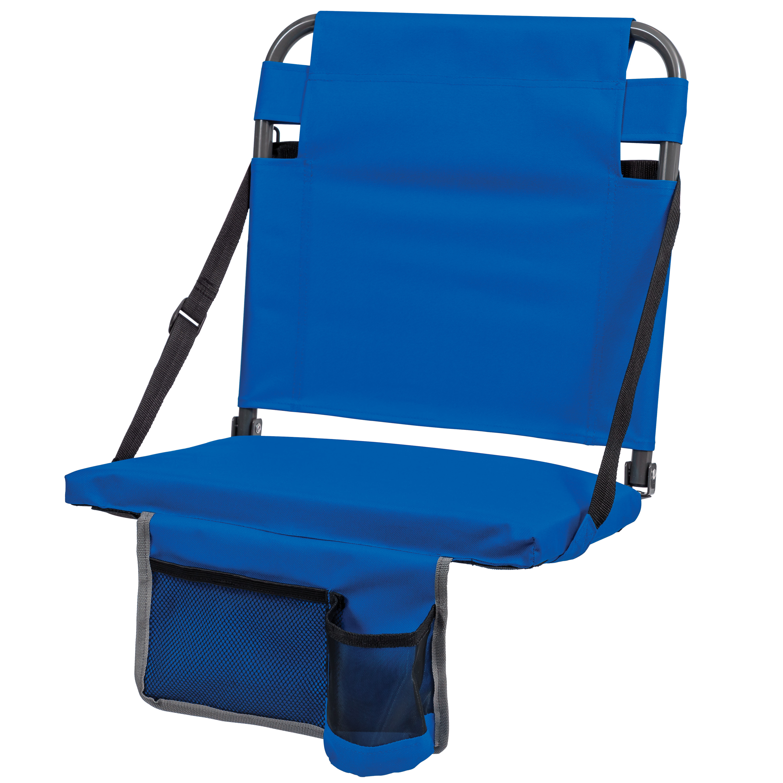 Cascade Mountain Tech Portable Folding Steel Stadium Seats for Bleachers Renewed
