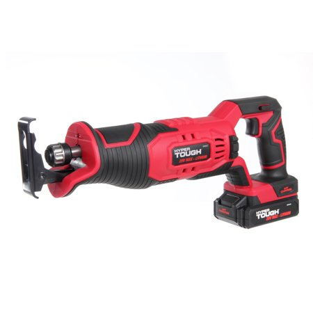 Cordless Recipro Saw Kit - Hyper Tough HT Charge 20V Reciprocating Saw, Aq8002G