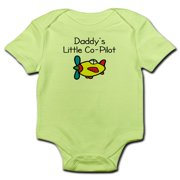 CafePress - Daddy's Little Co-Pilot Baby Bodysuit - Baby Light Bodysuit