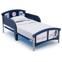 MLB New York Yankees Plastic Toddler Bed by Delta Children
