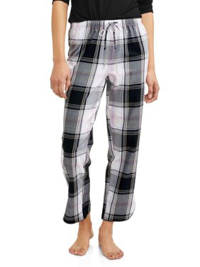 Secret Treasures Woven Pant Plaid