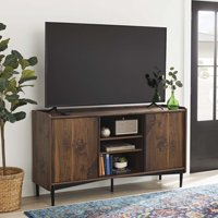 """Better Homes & Gardens Montclair TV Storage Console for TVs up to 65"""", Vintage Walnut Finish"""
