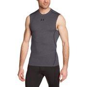 162cec5c9 Under Armour Men's HeatGear Sleeveless Compression Shirt, 1257469-090  (Small)