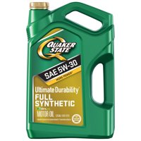 Quaker State Ultimate Durability 5W-30 Dexos Full Synthetic Motor, 5 qt