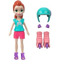 Polly Pocket Active Roller Chic Lila Adventure Doll