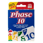 Phase 10 Challenging & Exciting Card Game for 2-6 Players Ages 7Y+