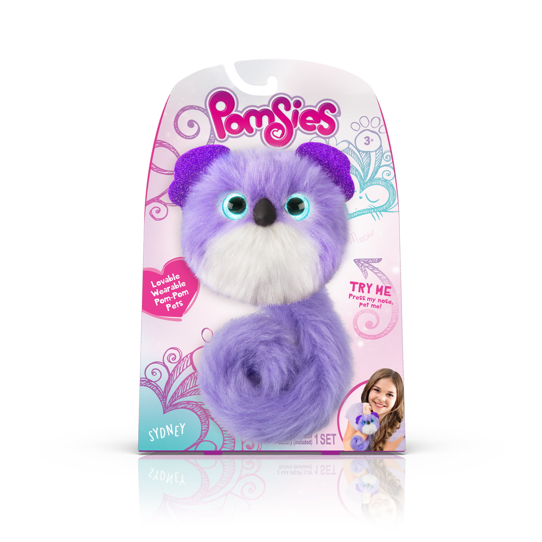 Pomsies Pet Koala Sydney- Plush Interactive Toy