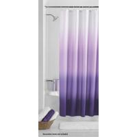 Mainstays Purple Ombré Fabric Shower Curtain