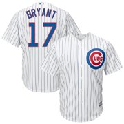 736c7cebceb Kris Bryant Chicago Cubs Youth Official Cool Base Player Jersey - White