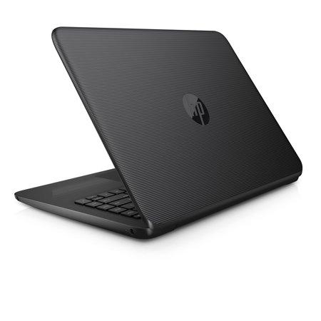 "HP Stream 14"" Jet Black Laptop, Windows 10 Home, Office 365 Personal 1-year included, Intel Celeron N3060 Processor, 4GB RAM, 32GB eMMC Storage"