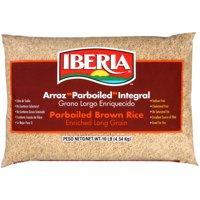 Iberia Parboiled Brown Rice, 10 lb
