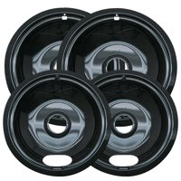 Range Kleen 4-Piece Drip Bowl, Style A fits Plug-In Electric Ranges