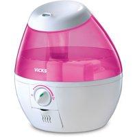 Vicks Mini Filter Free Cool Mist Humidifier - Pink