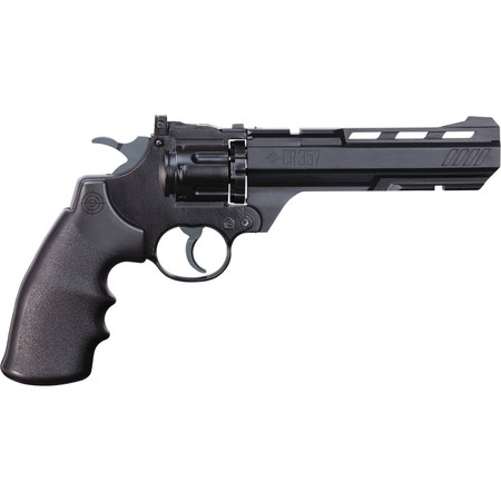 Crosman CR357 Revolver .177 Caliber CO2 Air Pistol, (Best C02 Air Rifle)